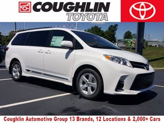 2020 toyota sienna le 8 passenger toyota dealer serving heath oh new and used toyota dealership serving columbus zanesville newark oh coughlin toyota